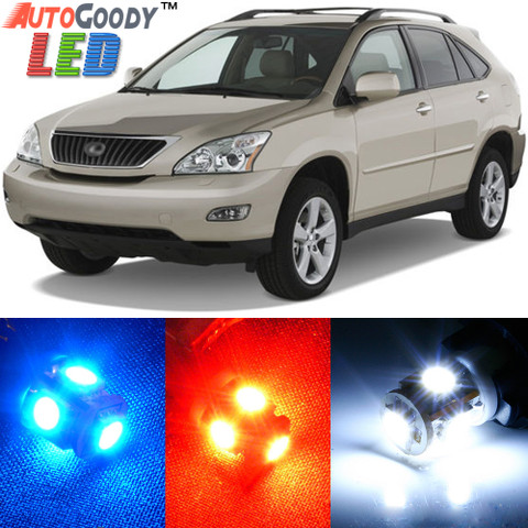 Premium Interior LED Lights Package Upgrade for Lexus RX330 RX350 (2004-2009)