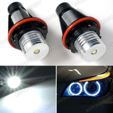 3W High Power BMW Angel Eyes LED Lights Ring Marker BMW 5 6 7 Series X3 X5