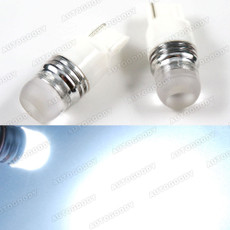 High Power 7440 T20 White LED Bulbs for Backup / Reverse Lights