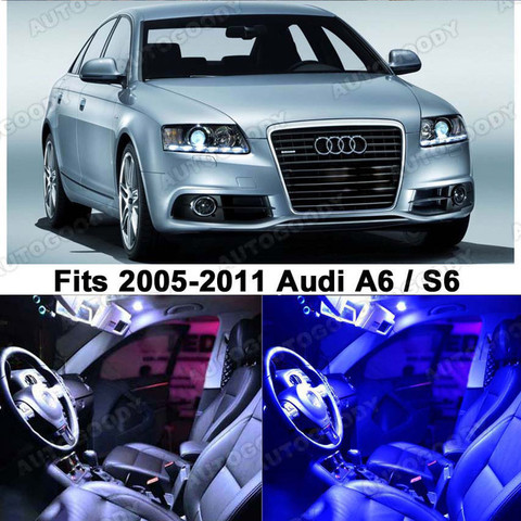Premium Led Lights Interior Package Upgrade For Audi A6 S6 2005 2011 Autogoody