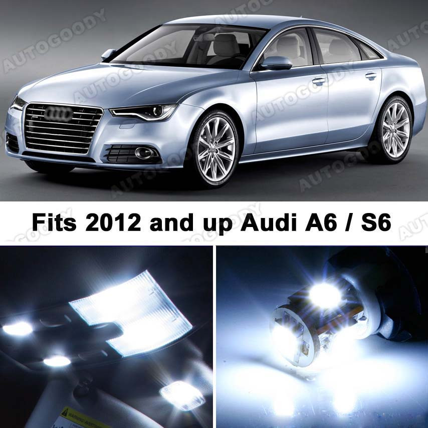 Premium LED Lights Interior Package Upgrade For Audi A6