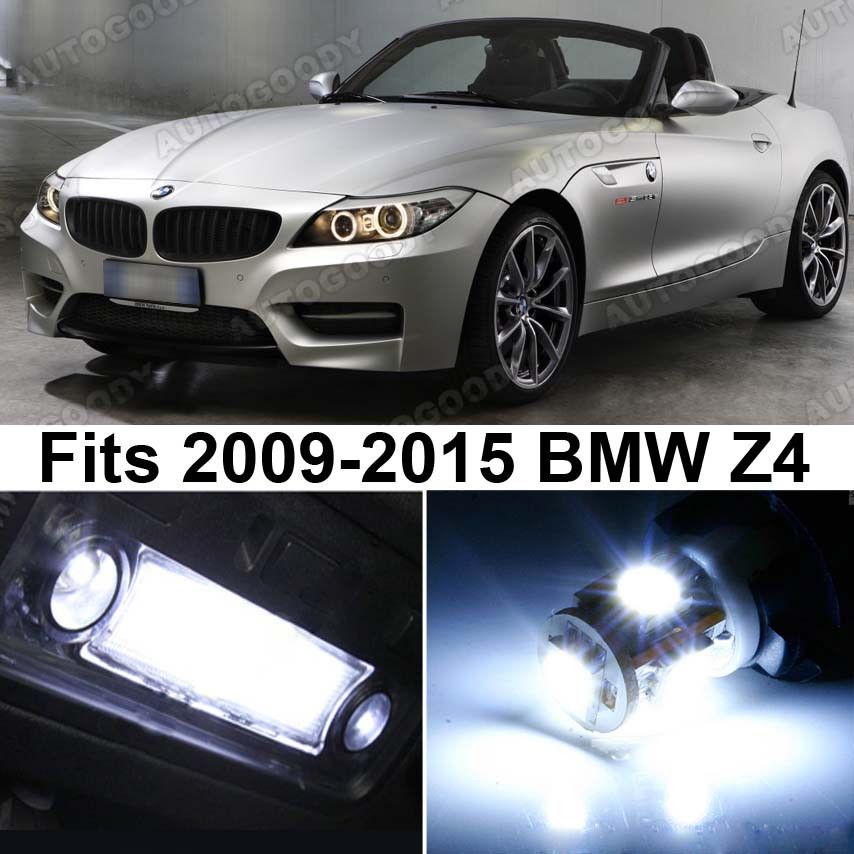 Bmw Z4 2009: Premium LED Lights Interior Package Upgrade For BMW Z4