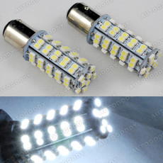 1157 2357 White LED Bulbs for Tail Brake Lights 68-SMD