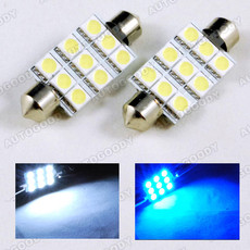 41mm Festoon LED Bulbs 9-SMD