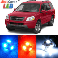 Premium Interior LED Lights Package Upgrade for Honda Pilot (2003-2005)