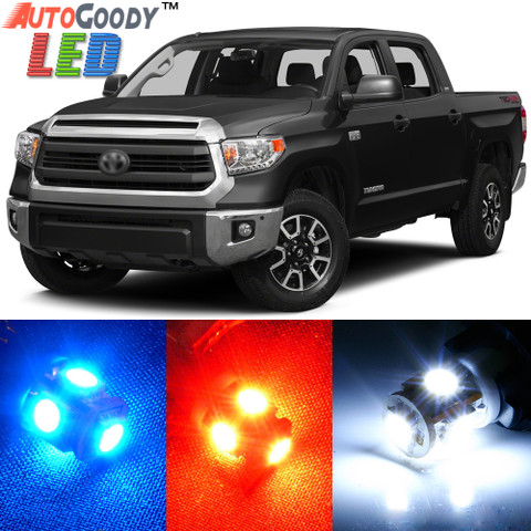 Premium Interior LED Lights Package Upgrade for Toyota Tundra (2007-2017)