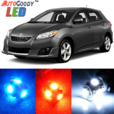 Premium Interior LED Lights Package Upgrade for Toyota Matrix (2003-2012)
