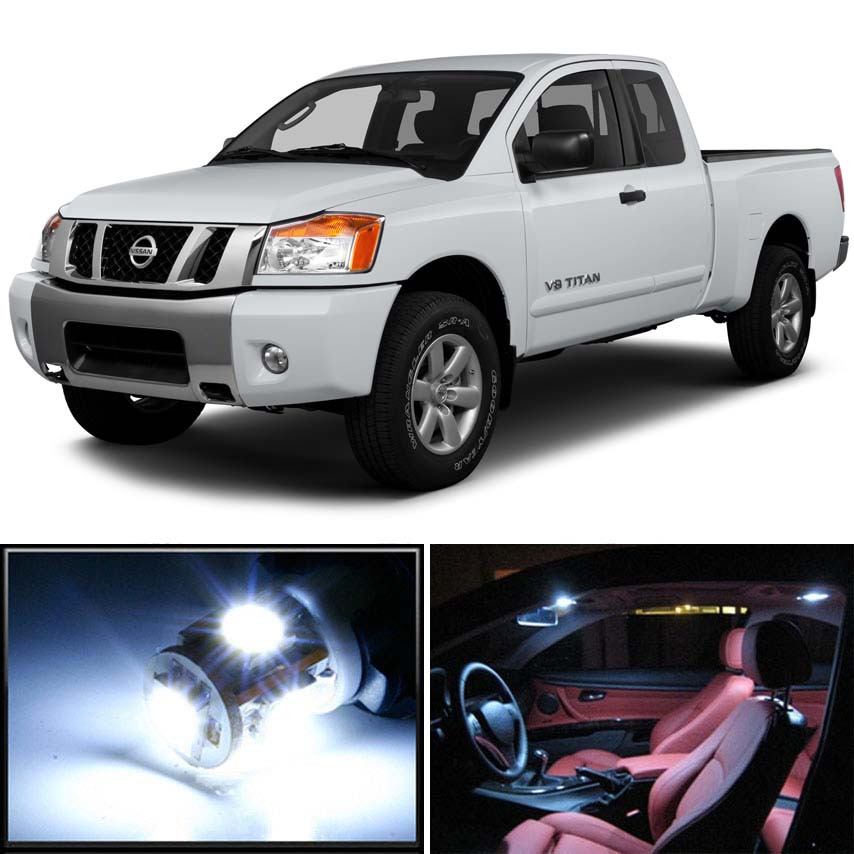 Premium Led Lights Interior Package Upgrade For Nissan Titan 2004 2015 Autogoody