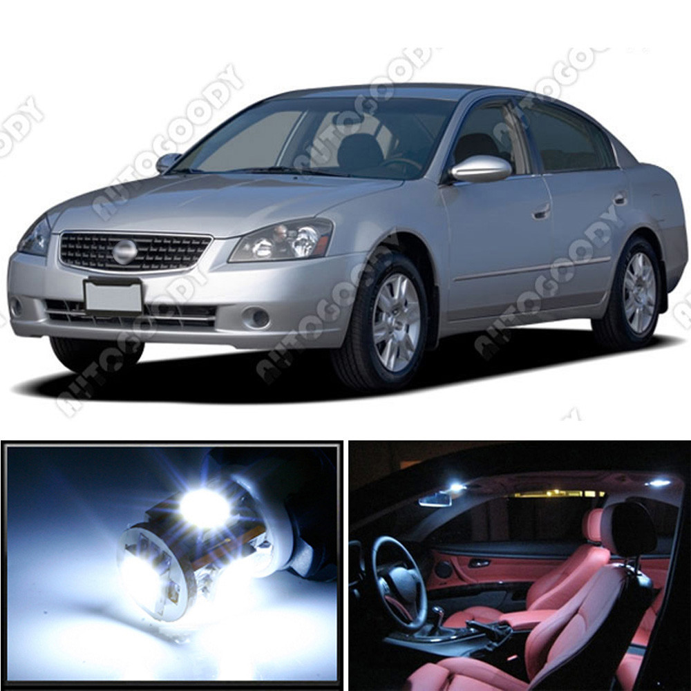 premium led lights interior package upgrade for nissan altima 2002 2006 autogoody