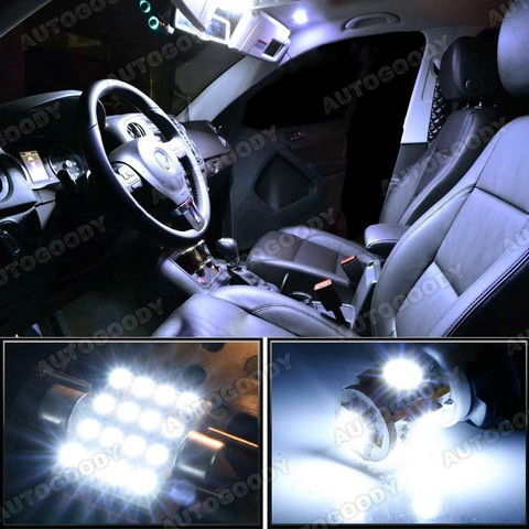 premium led lights interior package upgrade for nissan frontier 2005 2015 autogoody