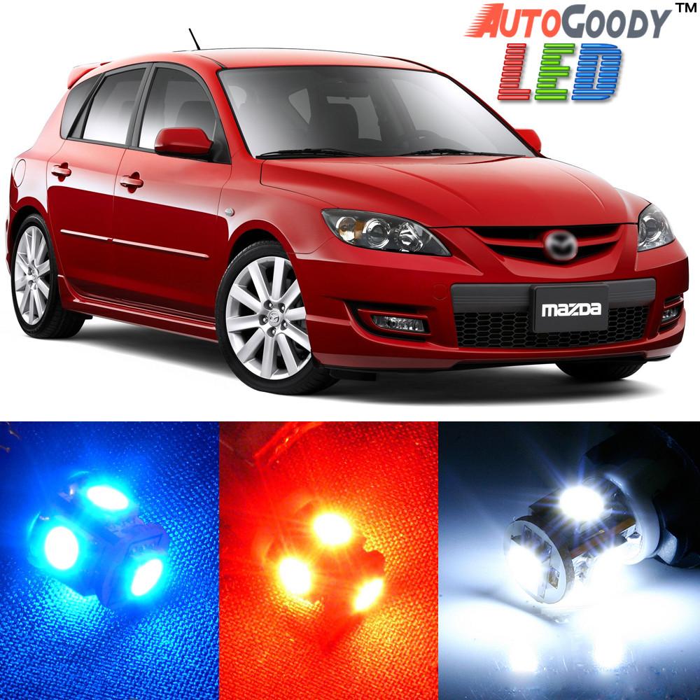 2010 Mazda Mazda6 Interior: Premium Interior LED Lights Package Upgrade For Mazda 3