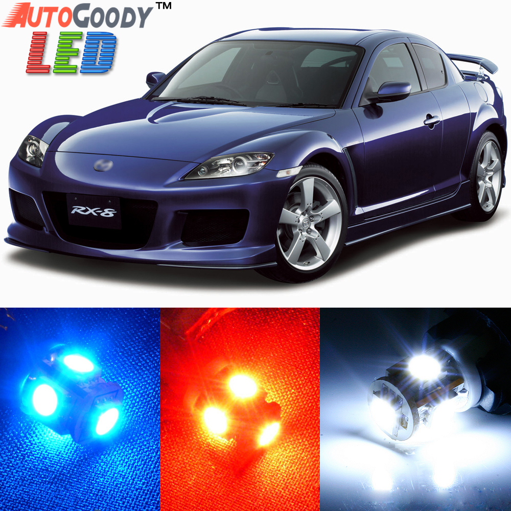 Premium Interior Led Lights Package Upgrade For Mazda Rx8 2004 2012 Autogoody