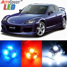 Premium Interior LED Lights Package Upgrade for Mazda RX8 (2004-2012)