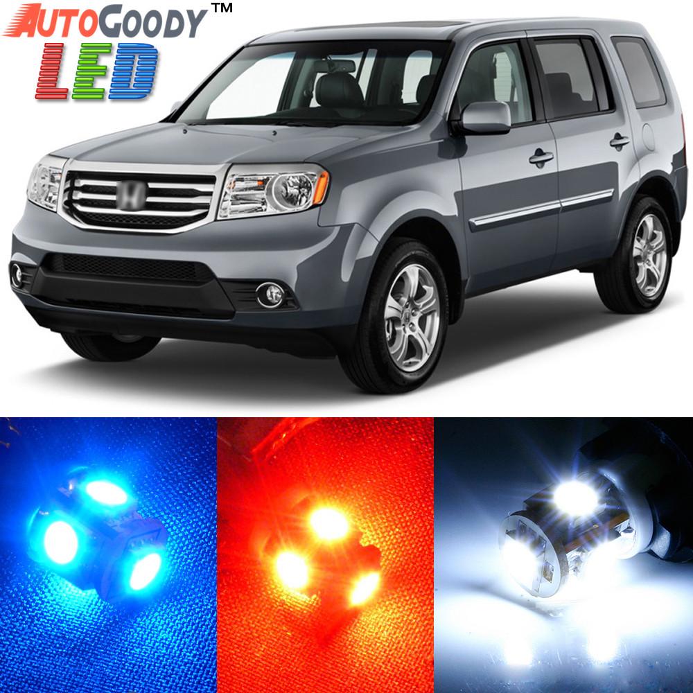 Premium Interior Led Lights Package Upgrade For Honda Pilot 2009 2015 Autogoody
