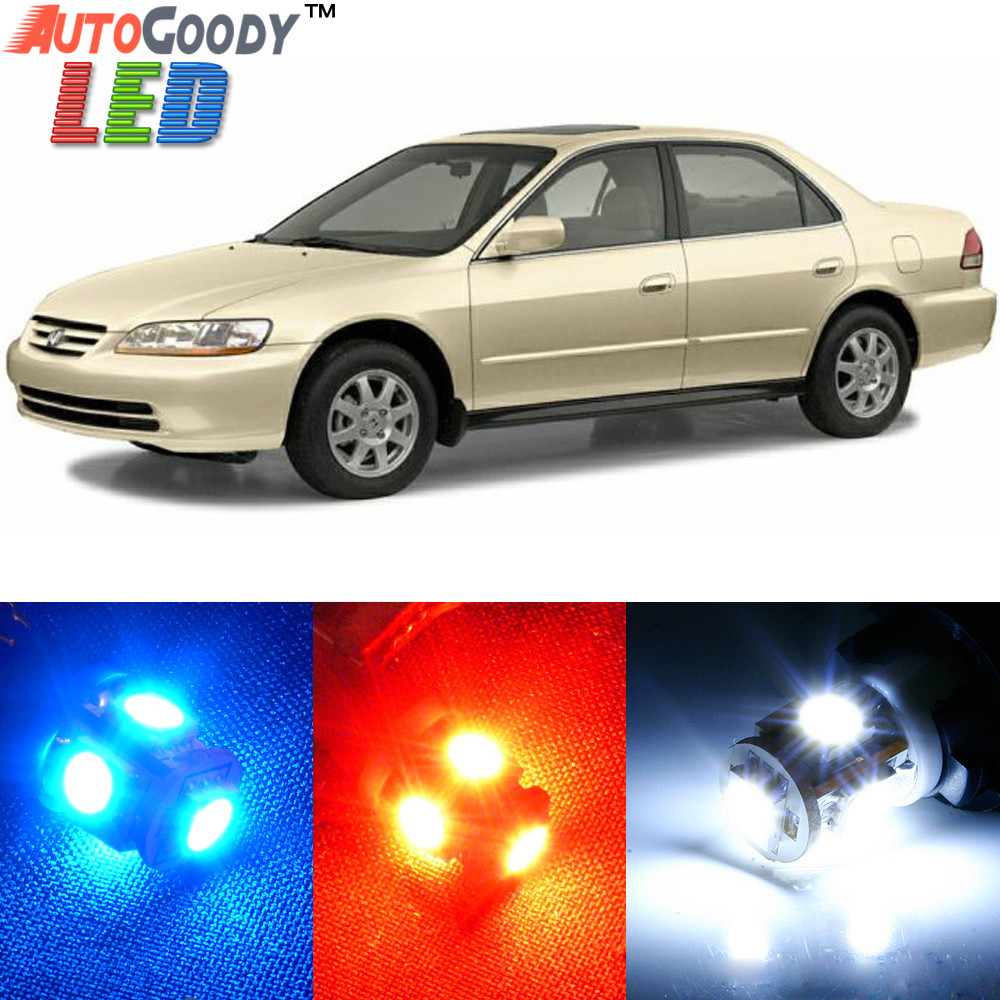 Premium Interior Led Lights Package Upgrade For Honda Accord 1998 2002 Autogoody