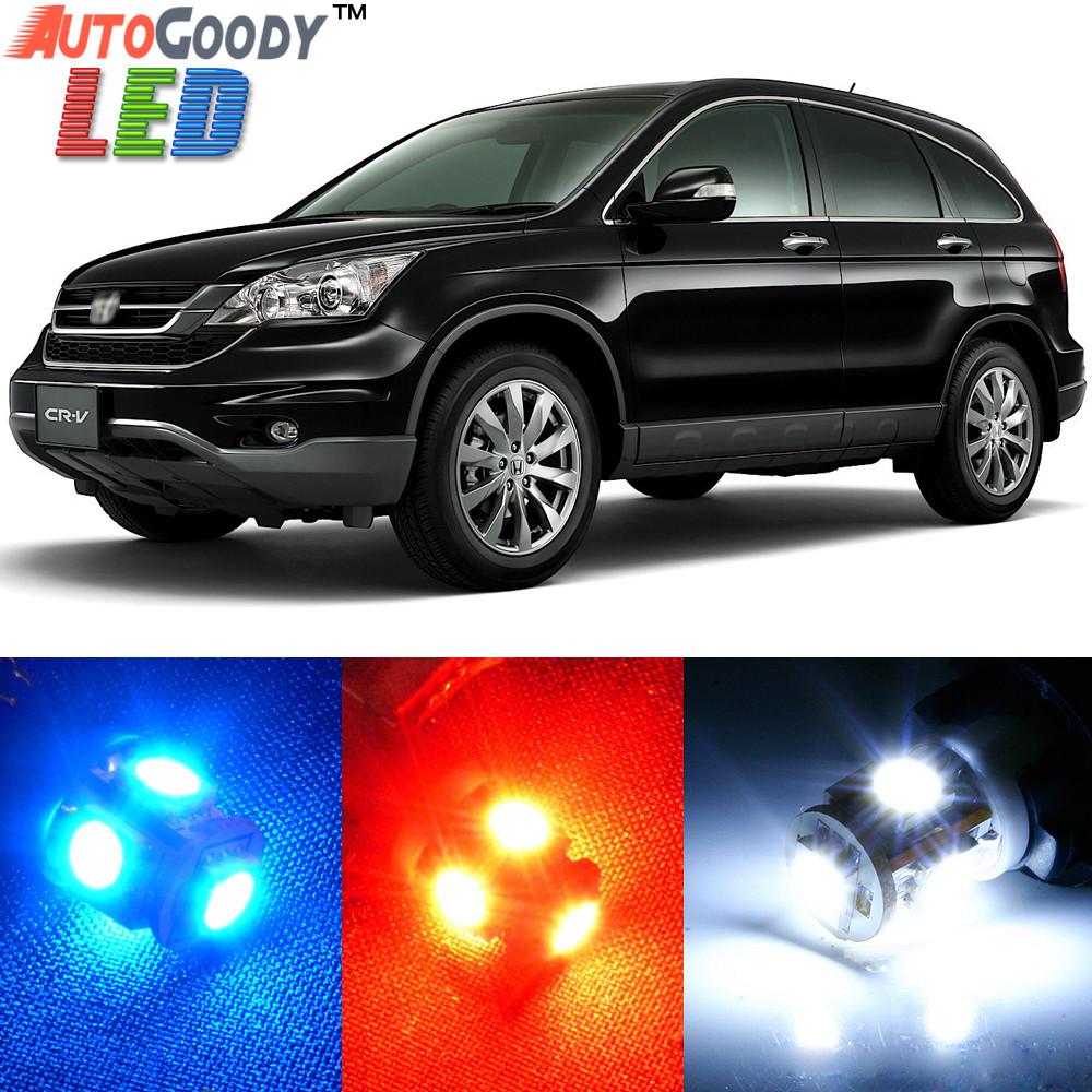 Premium interior led lights package upgrade for honda crv for Honda crv packages