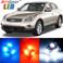 AutoGoody Premium Interior LED Lights Package Upgrade for Infiniti EX35 (2008-2012)