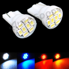 T10 LED Bulbs for License Plate Lights 8-SMD