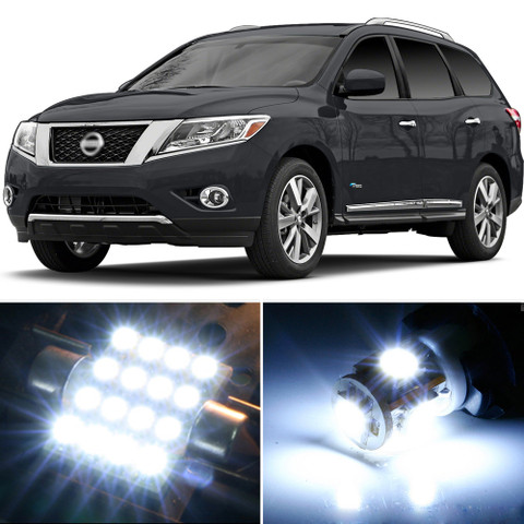 Premium led lights interior package upgrade for nissan - 2013 nissan pathfinder interior colors ...