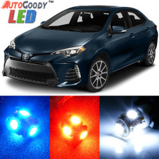 Premium Interior LED Lights Package Upgrade for Toyota Corolla (2000-2017)