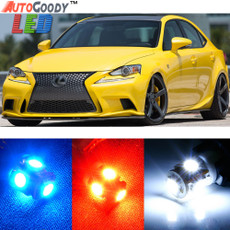 Premium Interior LED Lights Package Upgrade for Lexus IS200t IS250 IS300 IS350 (2014-2017)