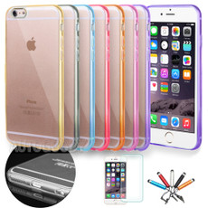 Slim Transparent Crystal Clear Hard TPU Case Cover for iPhone 6 / 6 Plus #49