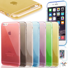 """0.3mm Ultra Thin Semi Transparent Soft Gel Case for iPhone 6 (4.7"""") #48"""