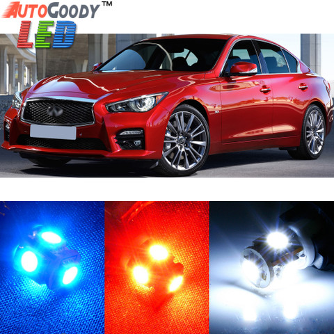 Premium Interior LED Lights Package Upgrade for Infiniti Q50 Q60 (2014-2017)