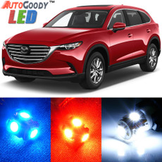 Premium Interior LED Lights Package Upgrade for Mazda CX9 (2007-2017)