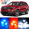Premium Interior LED Lights Package Upgrade for Ford Explorer (2011-2017)