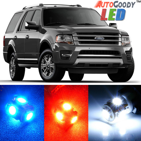 Premium Interior LED Lights Package Upgrade for Ford Expedition (1997-2017)