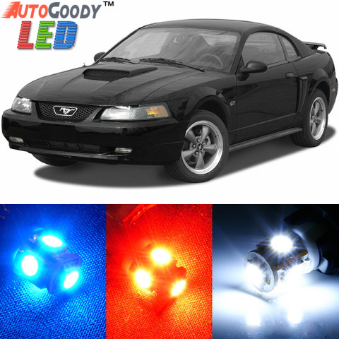 Premium Interior LED Lights Package Upgrade for Ford Mustang (1994-2004)