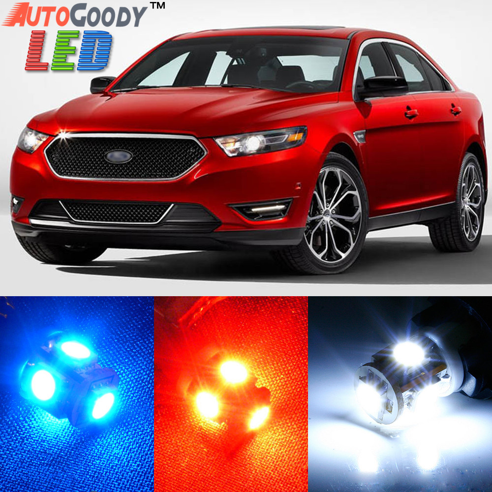2017 Ford Taurus Interior: Premium Interior LED Lights Package Upgrade For Ford
