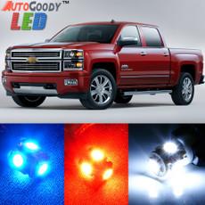 Premium Interior LED Lights Package Upgrade for Chevrolet Silverado (2007-2013)