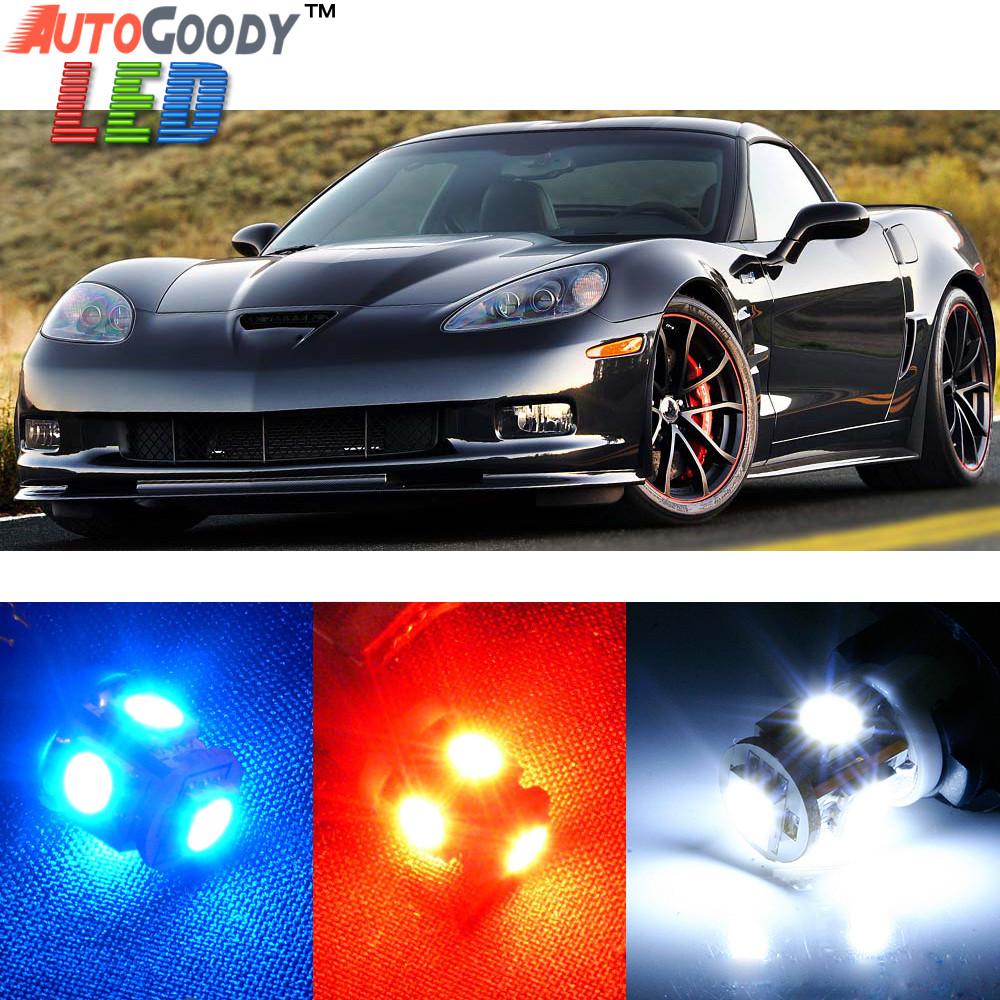 Premium Interior Led Lights Package Upgrade For Chevrolet Corvette 1997 2013 Autogoody