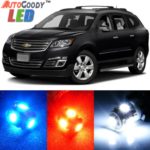 Premium Interior LED Lights Package Upgrade for Chevrolet Traverse (2009-2017)