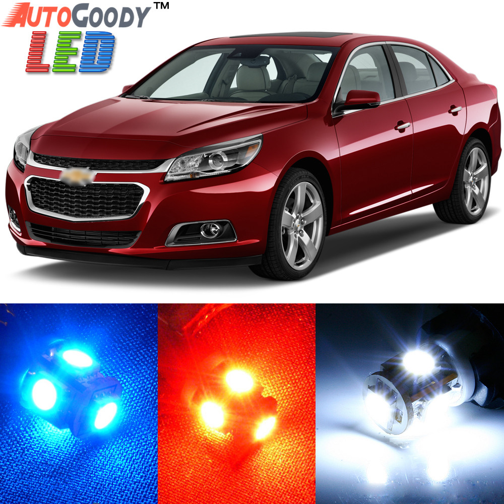 Premium Interior Led Lights Package Upgrade For Chevrolet Malibu 2013 2015 Autogoody