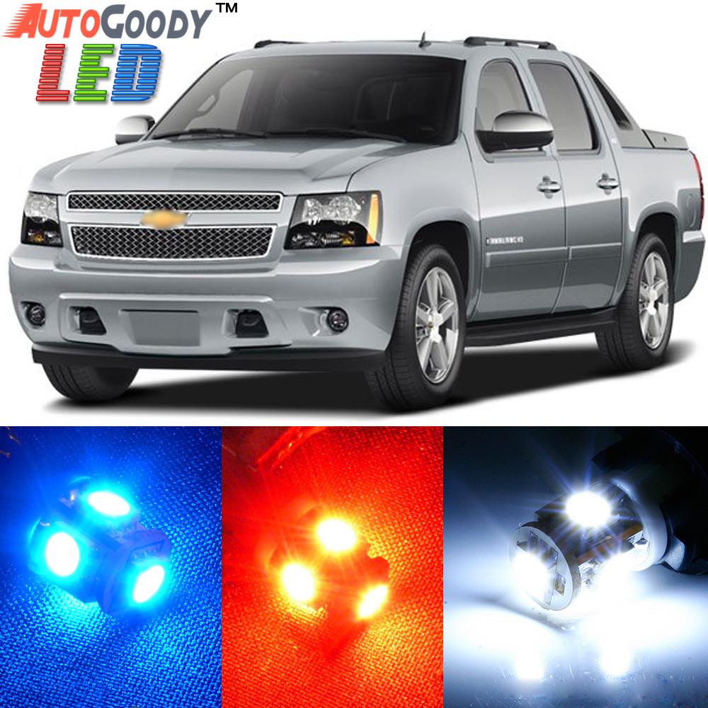 Premium interior led lights package upgrade for chevrolet - Led interior lights for 2013 chevy silverado ...