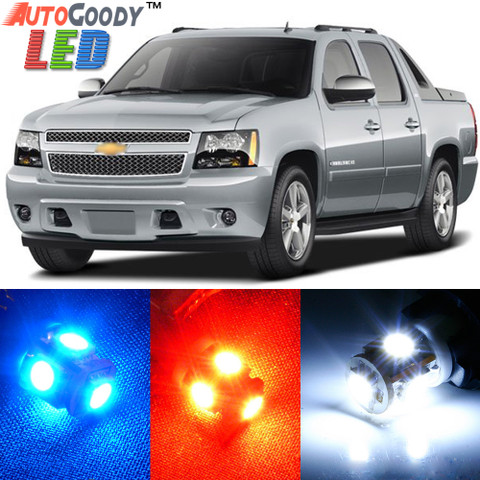 Premium Interior LED Lights Package Upgrade for Chevrolet Avalanche (2007-2013)