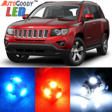 Premium Interior LED Lights Package Upgrade for Jeep Compass / Patriot (2007-2017)