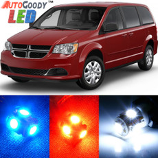 Premium Interior LED Lights Package Upgrade for Dodge Grand Caravan (2008-2015)