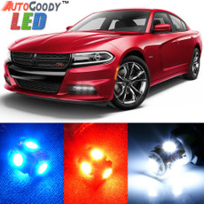 Premium Interior LED Lights Package Upgrade for Dodge Charger (2006-2017)