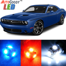 Premium Interior LED Lights Package Upgrade for Dodge Challenger (2008-2017)
