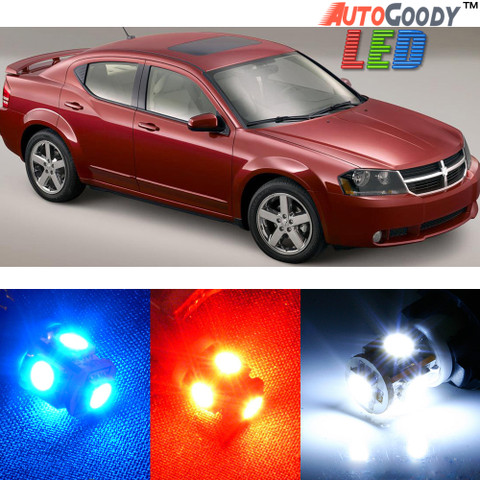 Premium Interior LED Lights Package Upgrade for Dodge Avenger (2011-2014)