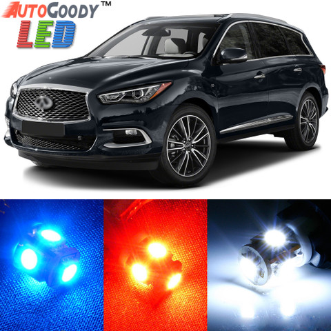 Premium Interior LED Lights Package Upgrade for Infiniti QX50 QX60 (2013-2017)