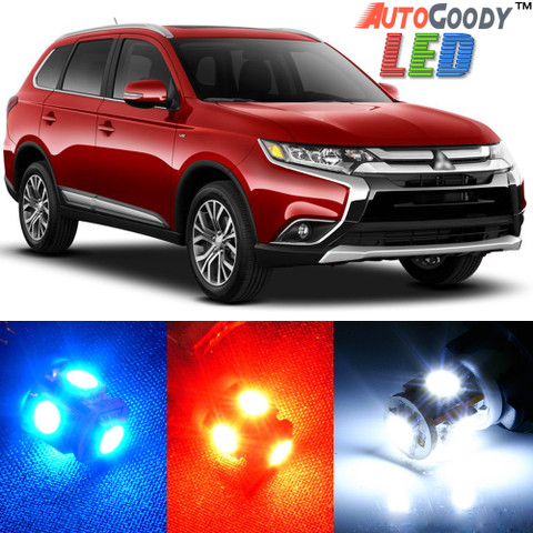 Premium Interior LED Lights Package Upgrade for Mitsubishi Outlander (2013-2017)