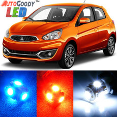 Premium Interior LED Lights Package Upgrade for Mitsubishi Mirage (2014-2017)