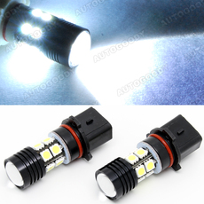 P13W Super Bright High Power CREE LED Bulbs for DRL Fog Lights 15W