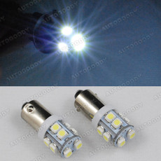 BA9 LED Bayonet Bulbs 10-SMD BA9s 64132 H6W