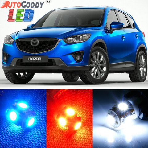 Premium Interior LED Lights Package Upgrade for Mazda CX5 (2013-2017)